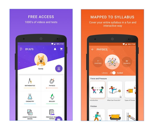 Byju's The Learning App – Free Mobile and Tablet Apps Information