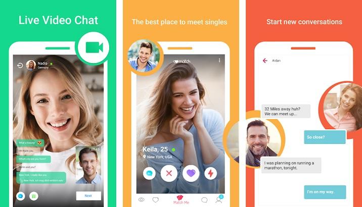 Live-chat und dating-app