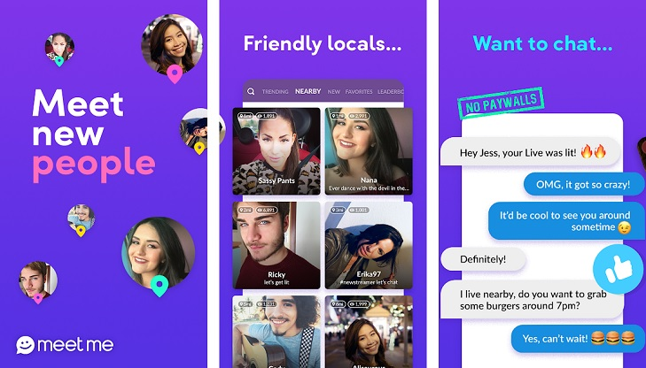 MeetMe: Chat & Meet New People App - Mobile and Tablet